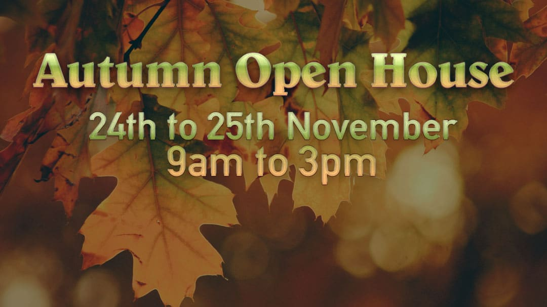 Autumn open house!