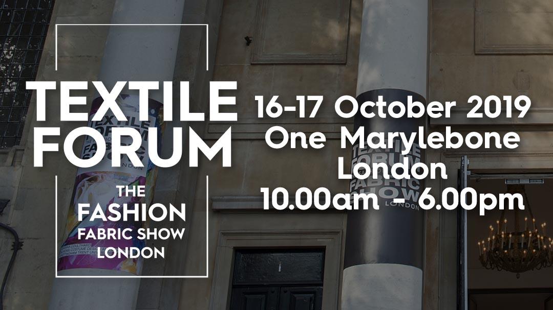Textile Forum 2019!