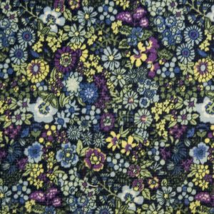 Anbo Cord – Purple/Blue Flower